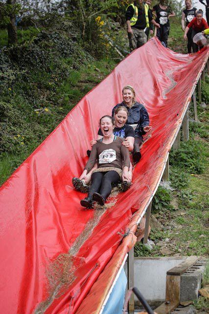 Great fun at Croghan Hill
