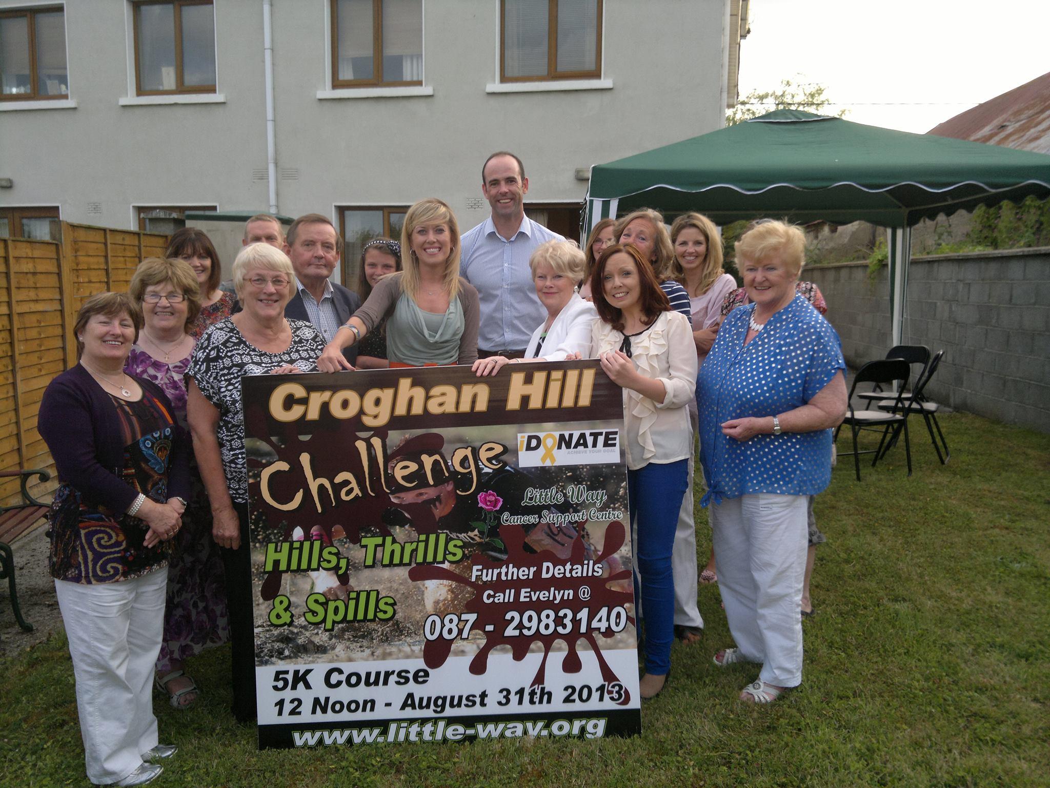 Kildare football legend, Dermot Earley, helps launch Croghan Hill Challenge 2013