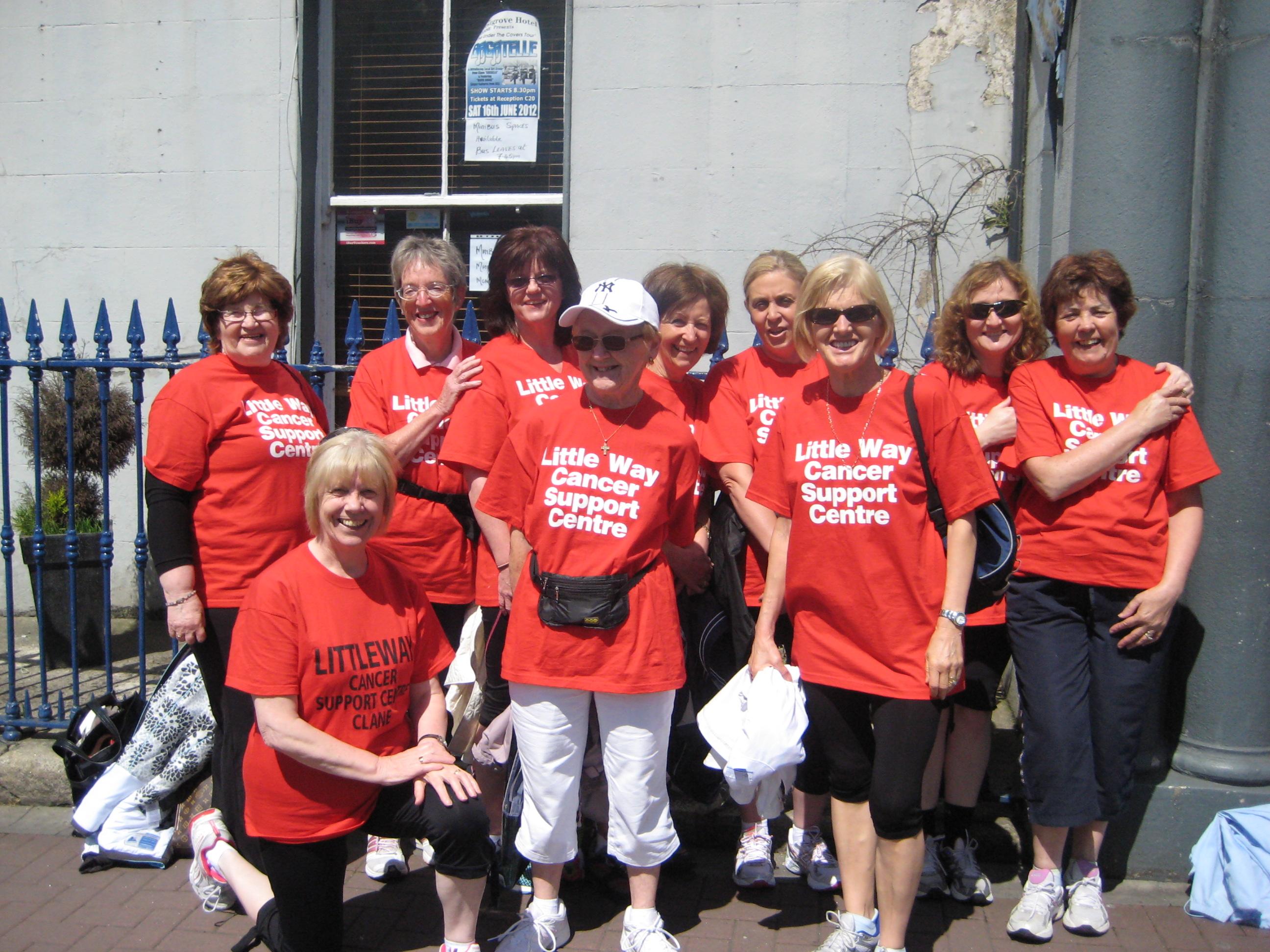 The wonderful Mini-Marathon ladies, who raised vital funds for Little Way!