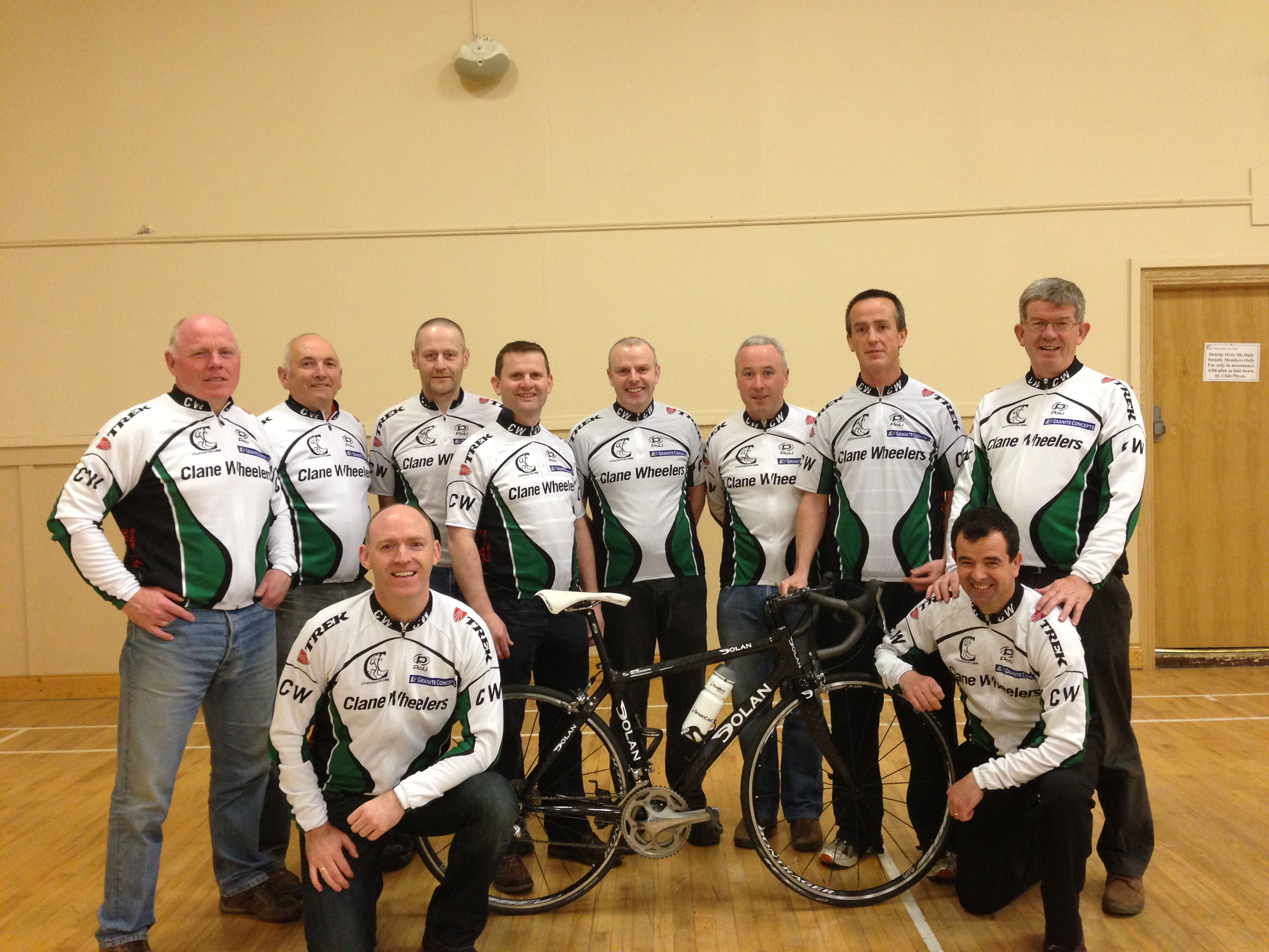 Clane Wheelers completed a very successfu Mizen to Malin fundraising cycle for Little Way